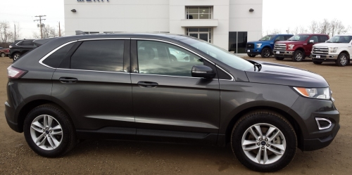 ESTERHAZY:- 2015 Ford Edge added to pe-owned autos.