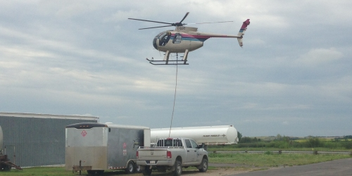ESTERHAZY:- More action at the airport
