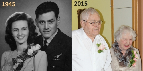 ESTERHAZY:- Marion and Les Kell celebrate 70 years of marriage