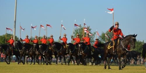 ESTERHAZY:- The RCMP Musical Ride comes to Esterhazy - (Nearly 100 pictures)