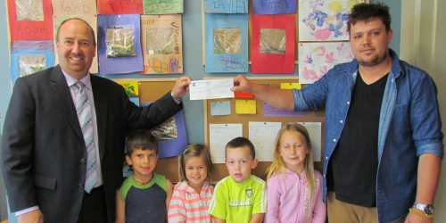 ESTERHAZY:- RBC donates $10,000 to Daycare Cooperative
