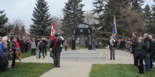 ESTERHAZY REMEMBRANCE DAY 2015