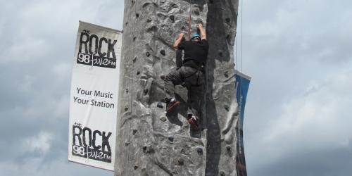 ESTERHAZY:- Courage at the rock!