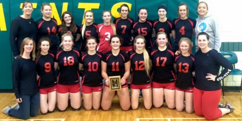 "ESTERHAZY:- ""Where no Sr. Girls volleyball team has gone in over a decade..."""