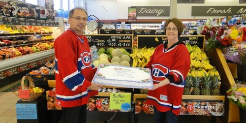 ESTERHAZY:- Mark and Kathy celebrate 20 years of SHOP EASY in Esterhazy