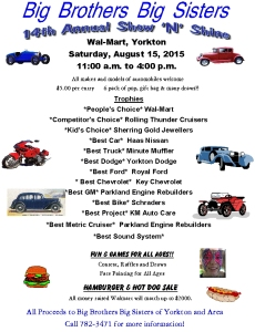2015 BBBS Show N Shine poster-1