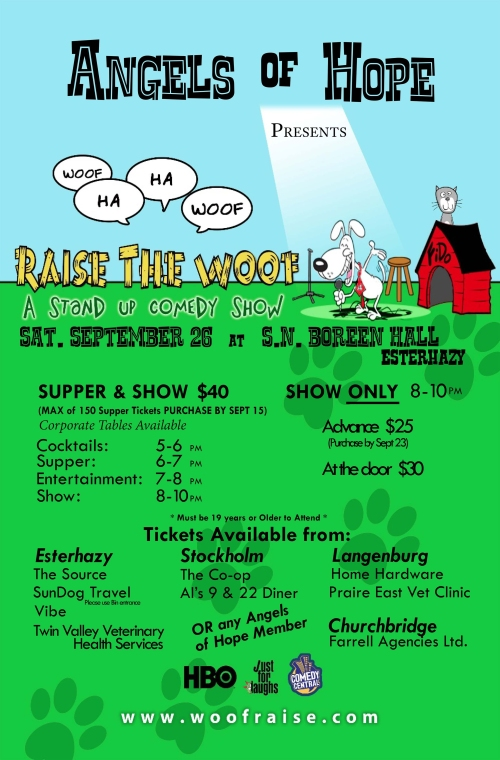 Raise The Woof - Poster