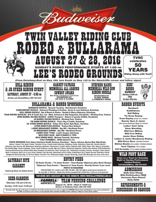2016 Bullarama Poster Picture