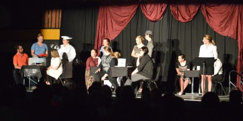 CHURCHBRIDGE:- Great play at Churchbridge Public School