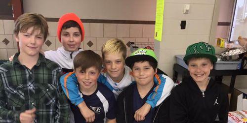 ESTERHAZY:- Boyz Help Club, hot dog sale update!