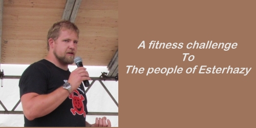 A fitness challenge to the people of Esterhazy