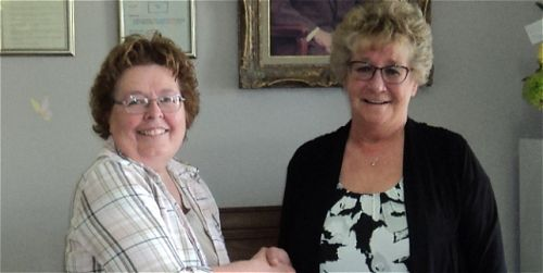 BANGOR:- Stockholm Bingo Association donates to Morris Lodge