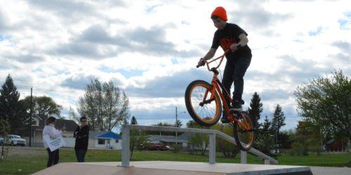ESTERHAZY:- New Skateboard Park opens