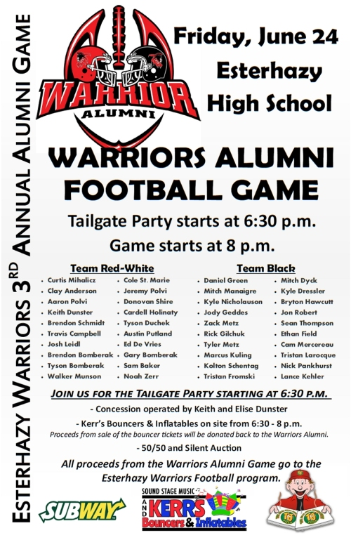 warriors alumni poster